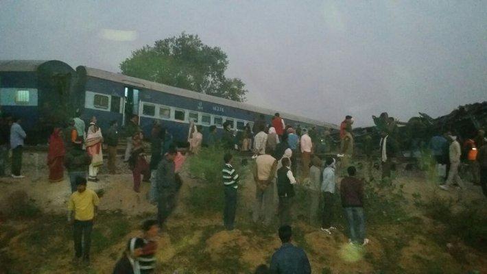 कानपुर रेल हादसा