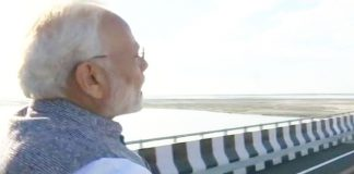 page3news-PM Modi Inaugurated India's Longest Railroad Bridge In Assam's Bogibeel