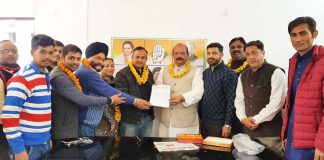 page3news-In conjunction with Metropolitan Congress President Lalchand Sharma, the office bearers of Congress Mahanagar Sahal Media Department