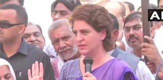 भाजपा पर प्रियंका का आरोप, कहा- अमेठी में पैसे बांटकर जनता से मांग रहे हैं वोट