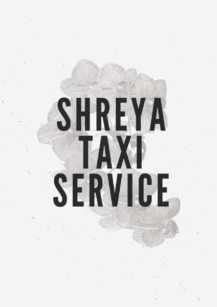 Shreya Taxi service Best Deals... Best Services..